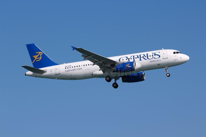 Cyprus Airways fotografia stock libera da diritti