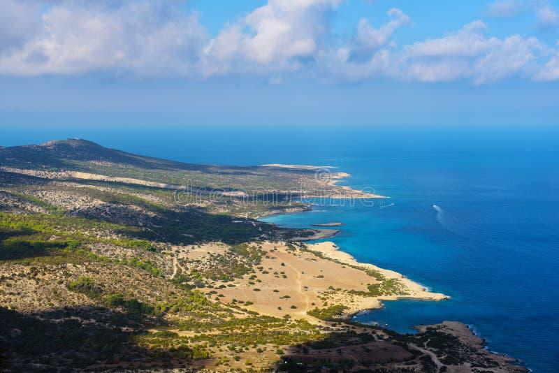Download Cyprus coast view stock image. Image of akamas, blue - 83703643