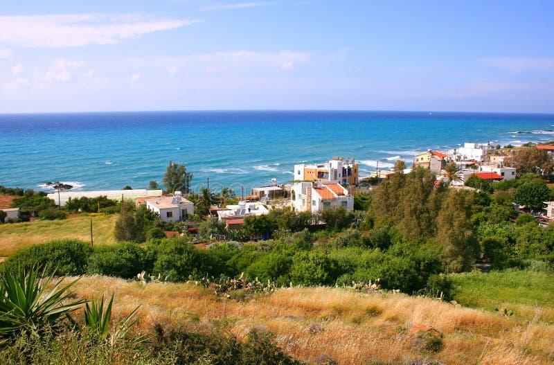 Cyprus landscape stock photo