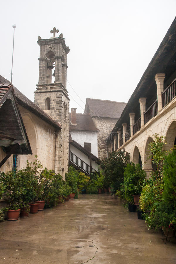 Cyprus Orthodox Monastery royalty free stock photos