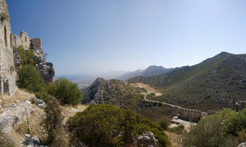 Cyprus St. Hilarion royalty free stock photography