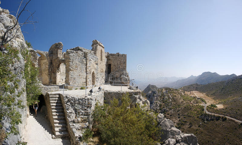 Cyprus St. Hilarion royalty free stock images