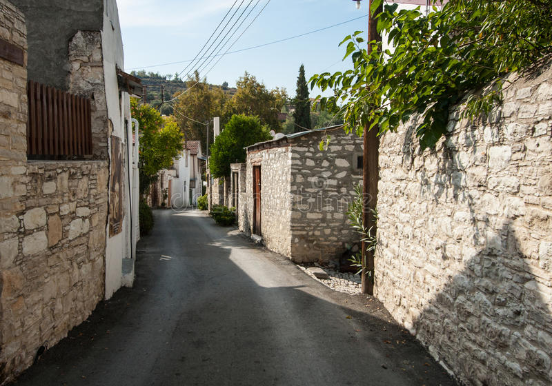 Download Cyprus street stock image. Image of village, house, green - 29744945