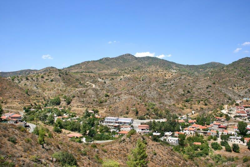Cyprus village royalty free stock image