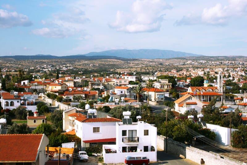 Cyprus village royalty free stock photo