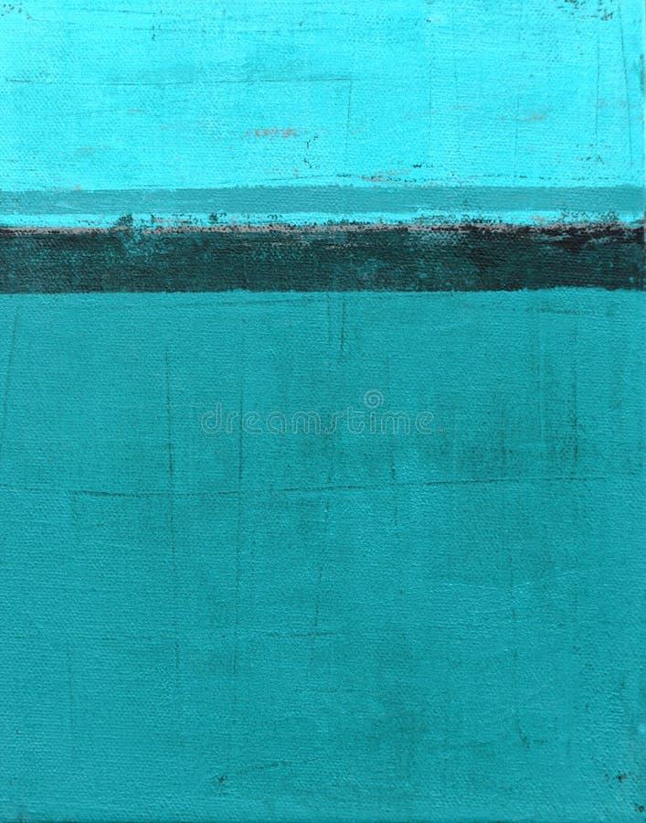 Cyraneczki Abstrakcjonistycznej sztuki obraz fotografia stock