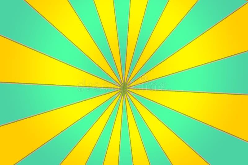 Cyraneczki I kolor żółty szpilki koło royalty ilustracja