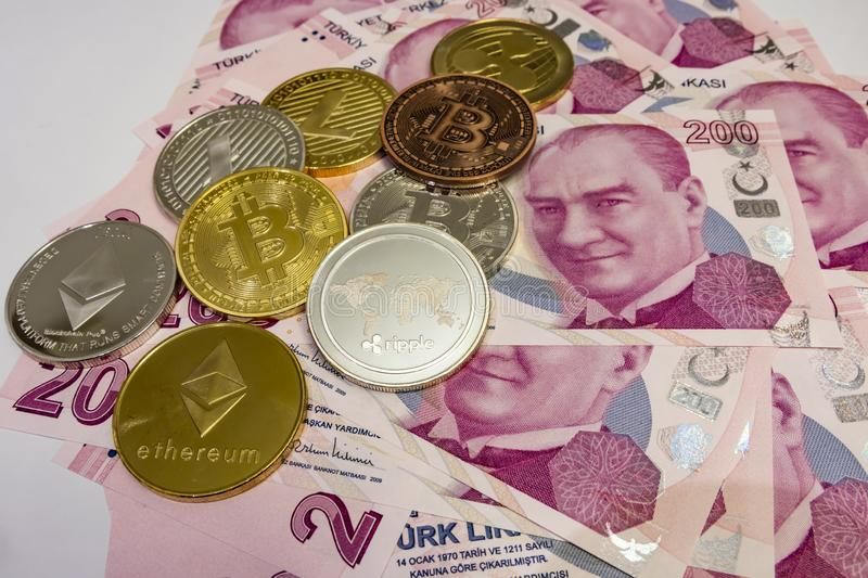 Cyripto money mining.cyripto coins is a digital asset designed to work in peer-to-peer transactions as a currency. Close up physical cyripto money coins with stock photos
