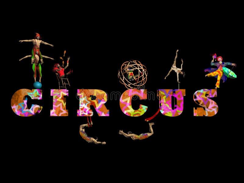 cyrk ilustracja wektor