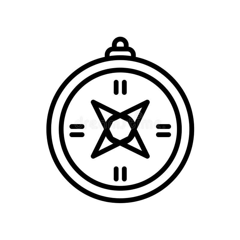 Cyrklowa ikona odizolowywająca na białym tle ilustracji