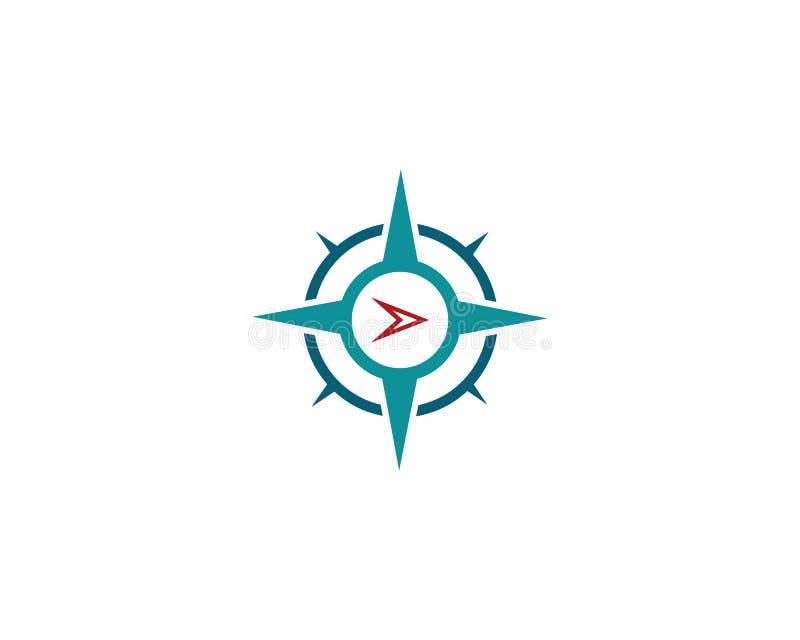 Cyrklowa loga szablonu wektoru ikona ilustracja wektor