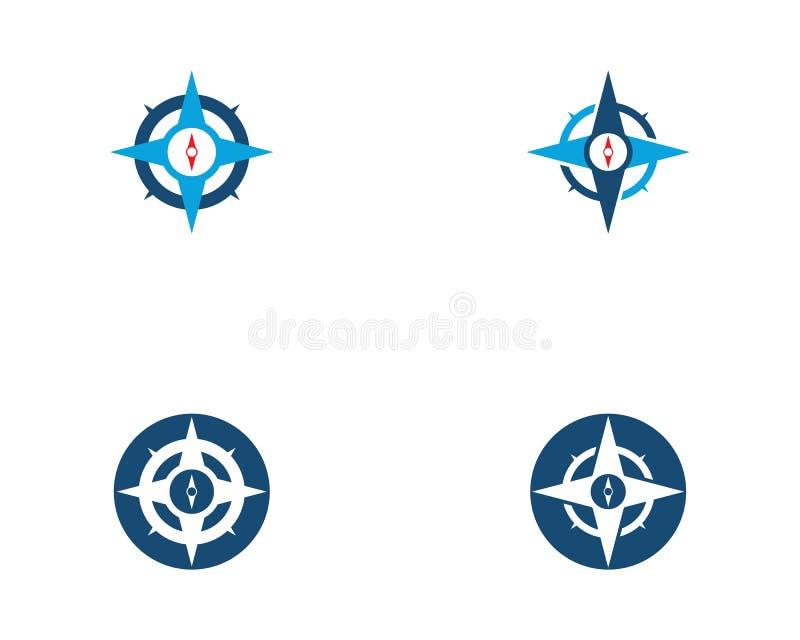 Cyrklowa loga szablonu wektoru ikona royalty ilustracja
