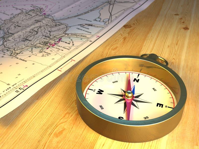 cyrklowa mapa ilustracji