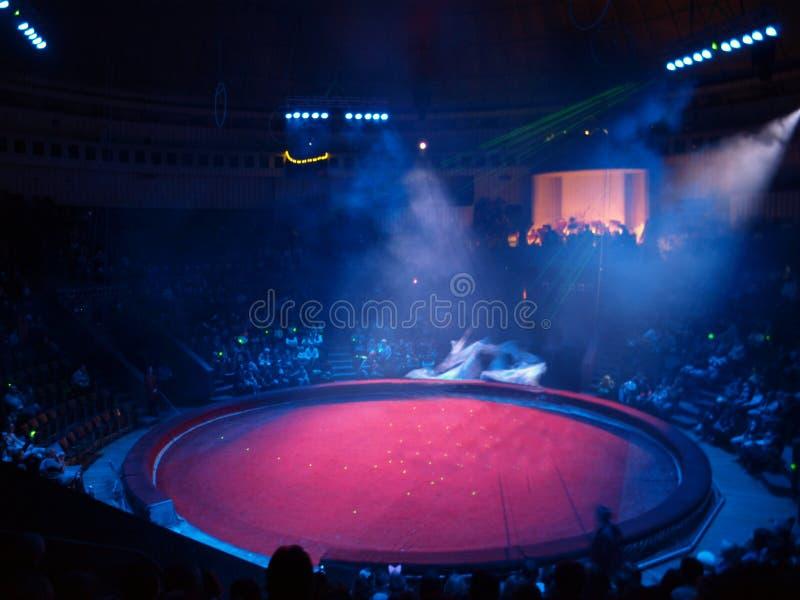 Cyrkowa arena zdjęcia royalty free