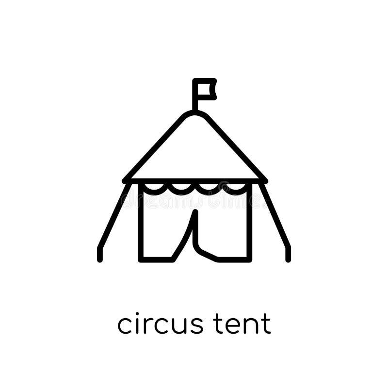 Cyrkowego namiotu ikona od Cyrkowej kolekcji royalty ilustracja