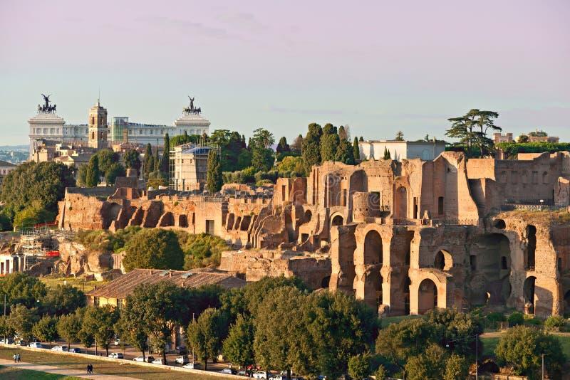 cyrkowy Italy maximus Rome zmierzch fotografia royalty free
