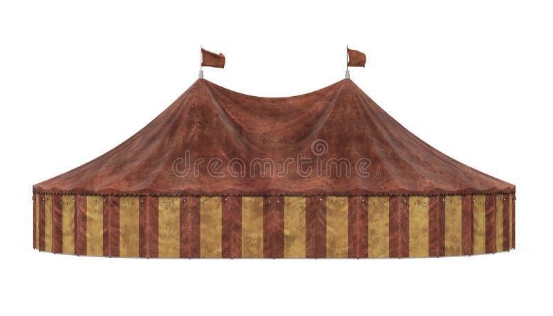 Cyrkowy namiot Odizolowywaj?cy royalty ilustracja
