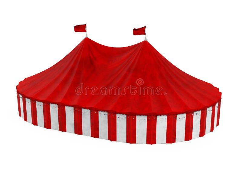 Cyrkowy namiot Odizolowywaj?cy ilustracja wektor