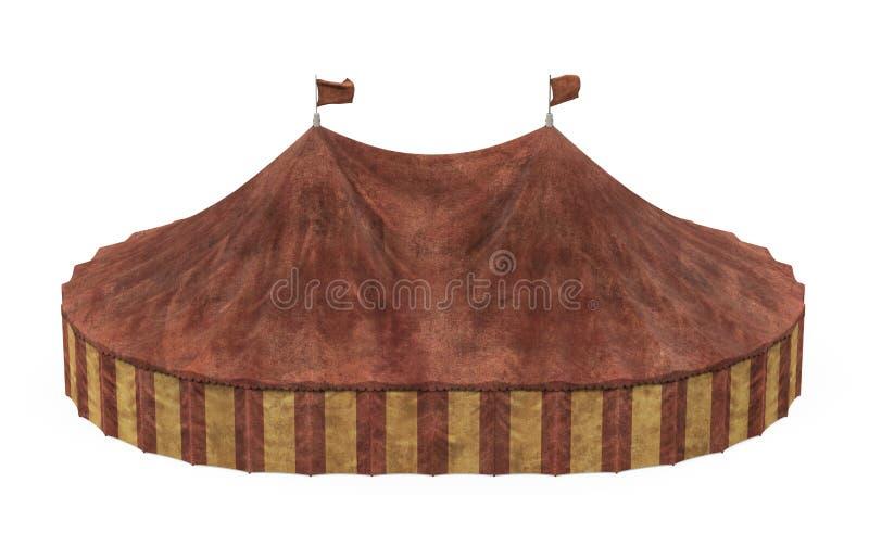 Cyrkowy namiot Odizolowywaj?cy ilustracji