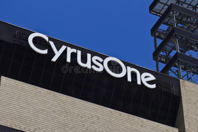 CyrusOne辛辛那提数据中心设施我 库存照片