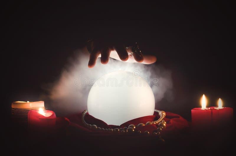 cystal的球 免版税图库摄影