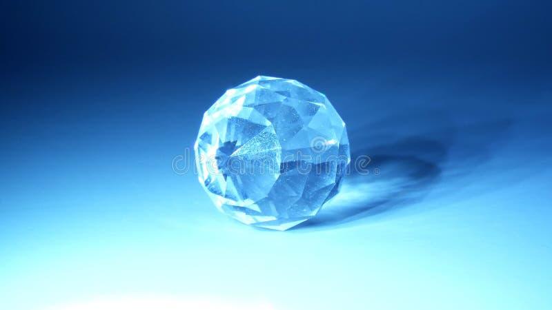 cystal的球 库存图片