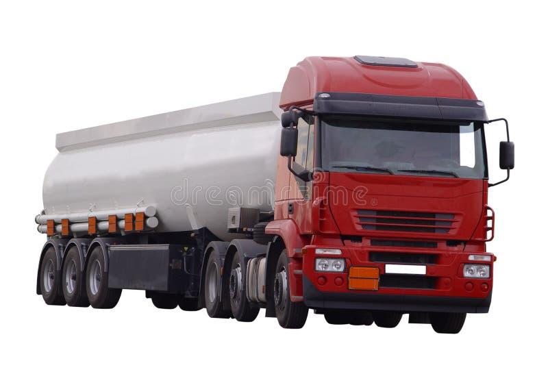 cysternowa ciężarówka. obraz royalty free