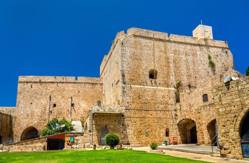 Cytadela akr, Osmańska fortyfikacja w Izrael obraz stock