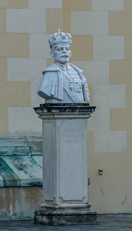 Cytadela forteczny Alba Karolina, szczegół królewiątko Ferdinand obraz stock