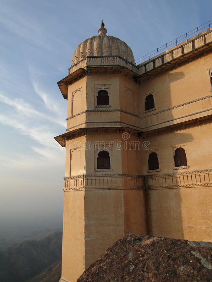 Cytadela Kumbhalgarh Fort zdjęcie royalty free