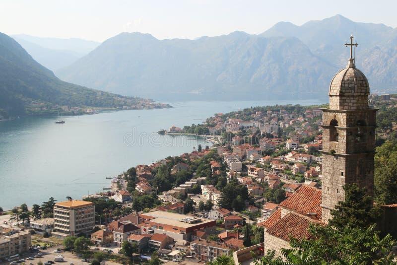 Cytadela w Kotor, Montenegro obraz royalty free