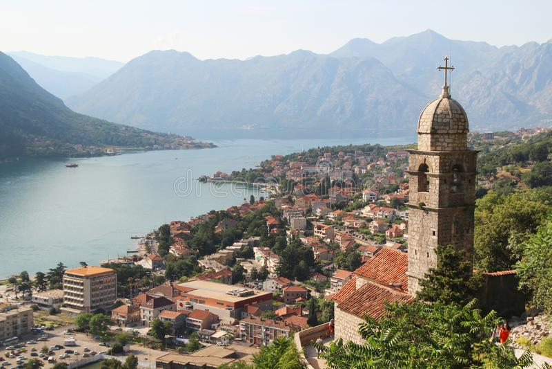 Cytadela w Kotor, Montenegro zdjęcie royalty free