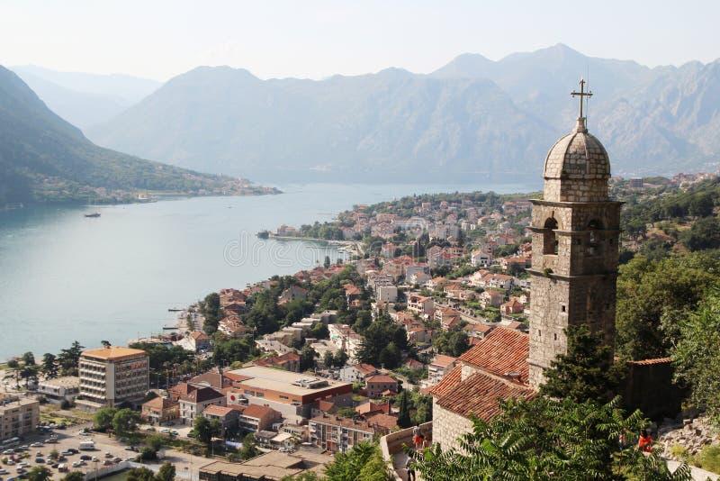 Cytadela w Kotor, Montenegro obraz stock