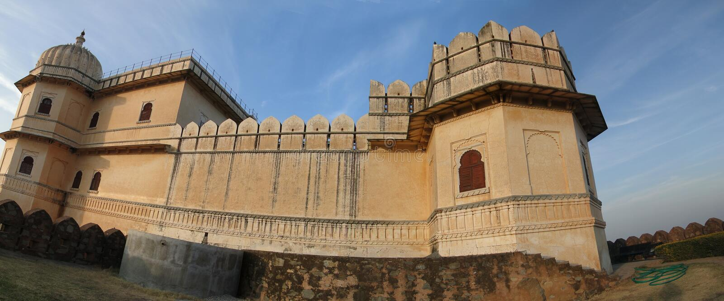 cytadeli fortu kumbhalgarh fotografia royalty free