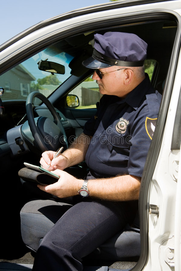 Download Cytaty piśmie policji obraz stock. Obraz złożonej z aresztujący - 5095359