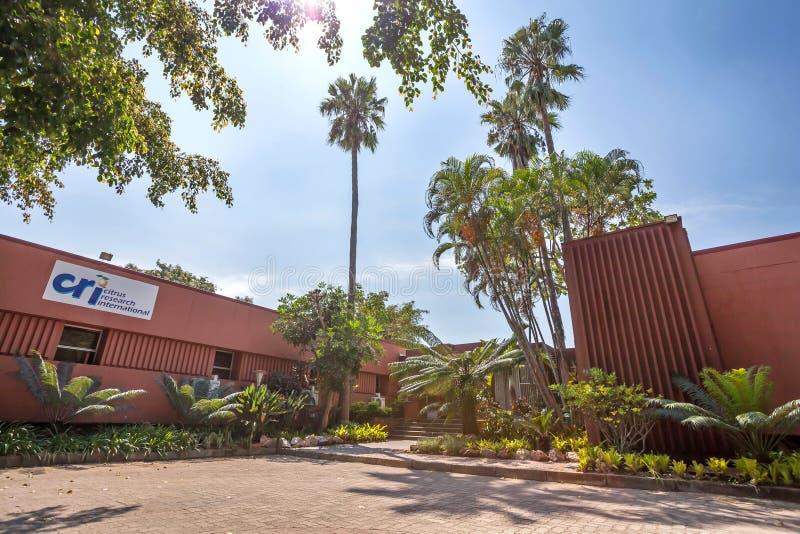 Cytrusa badawczy budynek w Południowa Afryka zdjęcia royalty free