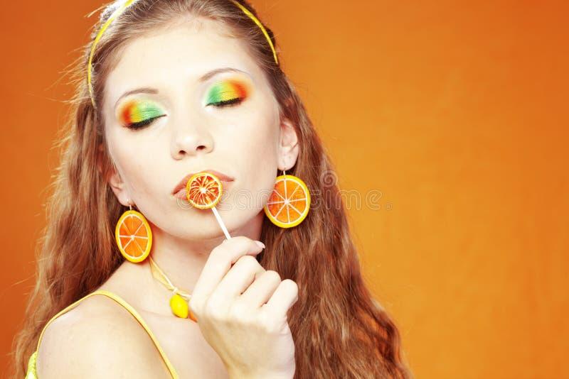 cytrusa makeup zdjęcia royalty free