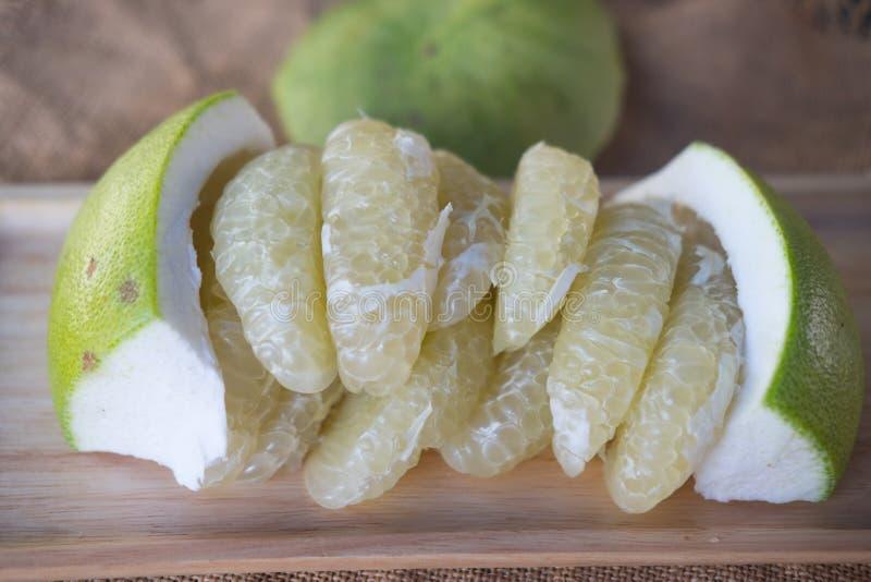Cytrusa sweetie lub Pomelit owoc obraz royalty free