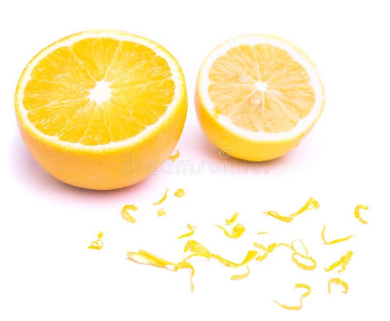 Cytryna i pomarańcze zdjęcie stock