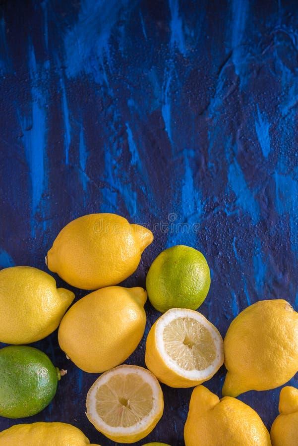Cytryna i Wapno zdjęcie stock