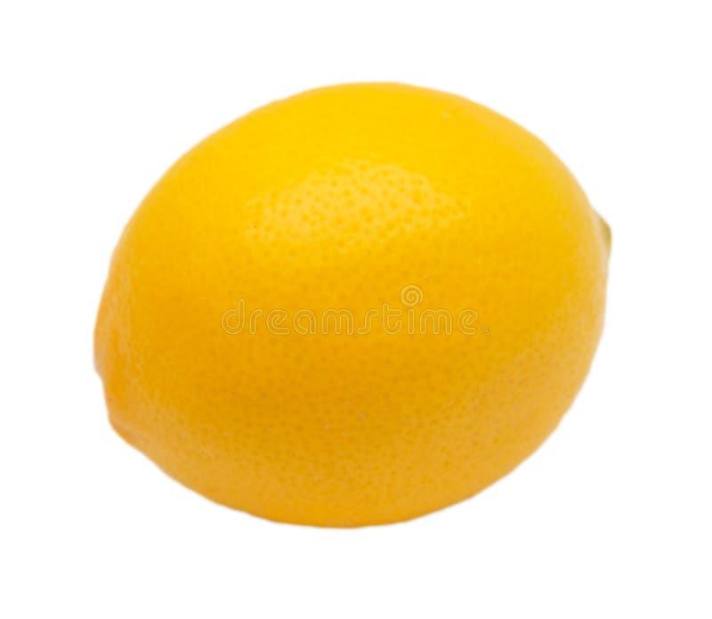 Cytryna na białym tle zdjęcia stock