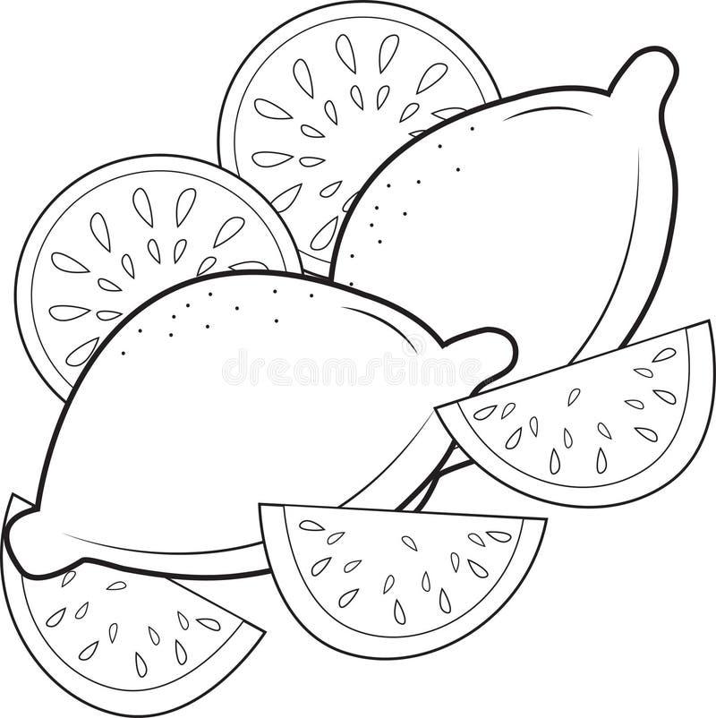 cytryny royalty ilustracja