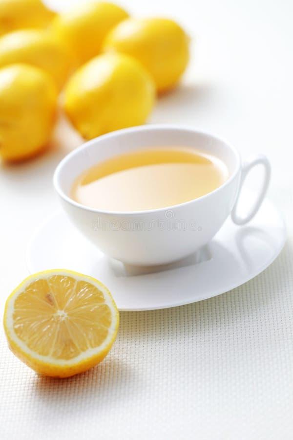 cytryny herbata zdjęcie stock