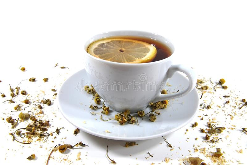 cytryny herbata zdjęcia royalty free