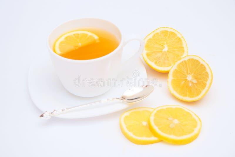 cytryny herbata zdjęcia stock