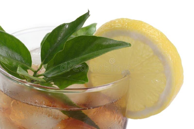 cytryny lodowa herbata obrazy stock
