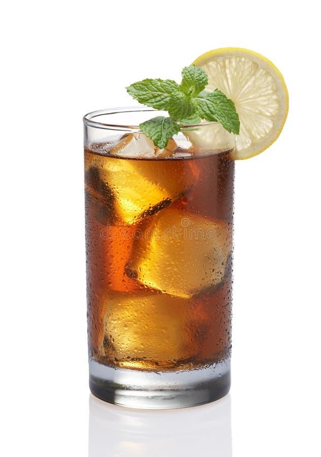 cytryny lodowa herbata zdjęcie royalty free