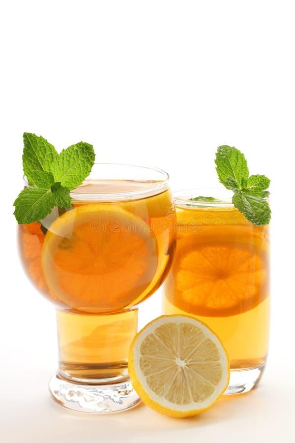cytryny lukrowa herbata zdjęcia royalty free