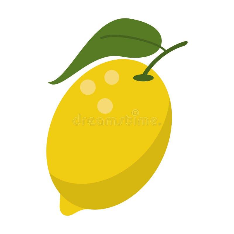 Cytryny owoc świeża żywność ilustracji
