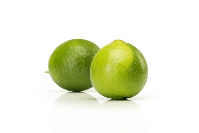 Cytryny owoc odizolowywająca na białym tle obrazy stock